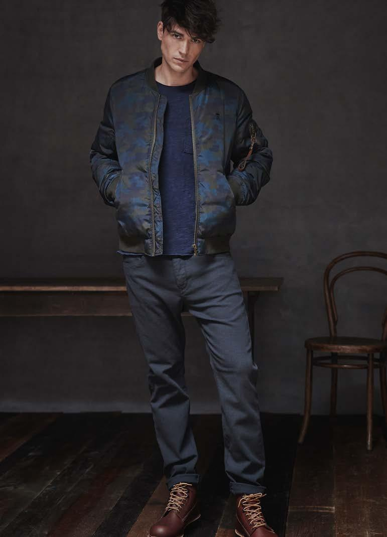 Jeans TYLER TAPERED DB902-668 Jacket KIERAN