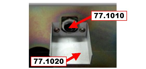 77.1010 Screw for outlet 1