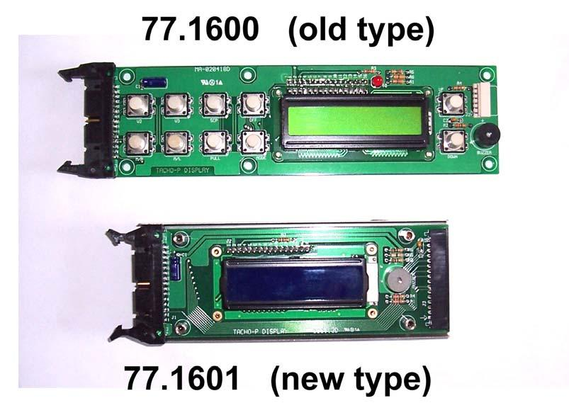 77.1600 PCB for panel cpl. (old type) 1 77.