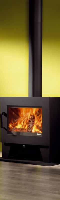 Instyle inserts and built-in fires. Functional wood and multifuel ...