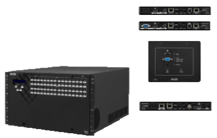 Redundante Netzteile - High Speed Digital Switching mit 12.8 Gbps.