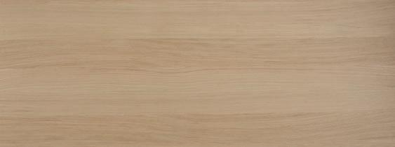 210 mm REFINED OAK VEREDELTE/RUHIGE EICHE Oak veneered board with a linear appearance.