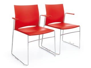 chairs with armrests / Reihenverbinder beim Ariz mit