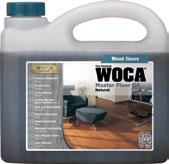 Consumption: 1 liter for approx. 40 sqm for the first care from oiled floors; 1 liter for approx.