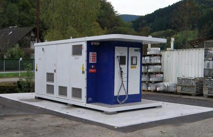 - Installation of Hydrogen Refuelling