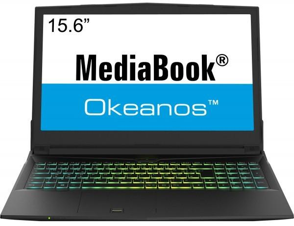 Stand: 20/06/2017 MEDIABOOK OKEANOS M650K Intel Core i3-7100 Prozessor (5956) Option: Intel Core i5-7400 Prozessor (7392) 1049 +80 Grafik: Geforce GTX1050ti, 4GB (3D-MARK-FS 7913) 8GB DDR4-RAM (max.