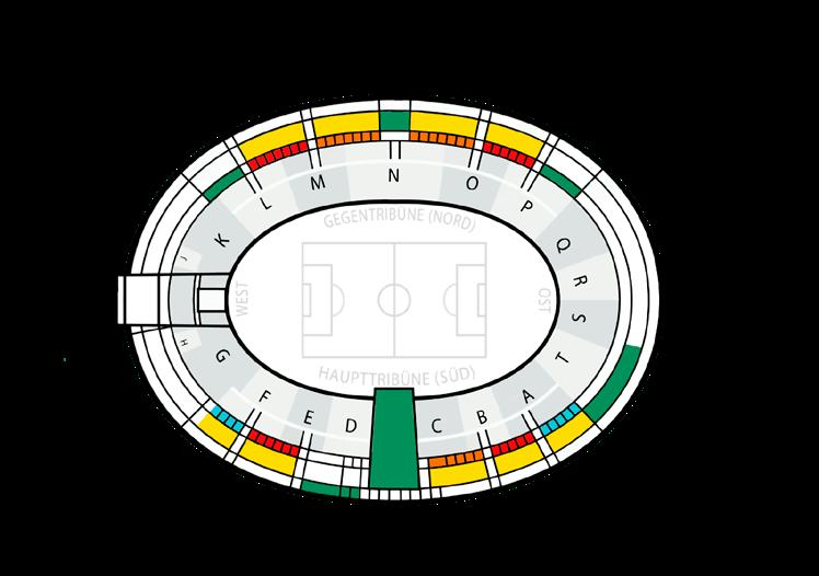DFB-POKALFINALE 2018 & 2019 OLYMPIASTADION BERLIN 12 ÜBERSICHT VIP-BEREICHE VIP-BEREICHE / DFB-POKALFINALE KATEGORIE PREIS in EURO (Pro Person) > Executive- Club (Block L) > VIP-Foyer Nord > Logen