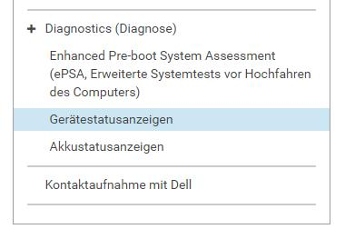 1 Dell.de/support 2 No Post Wo finde ich Diagnosecodes? 3 1. dell.