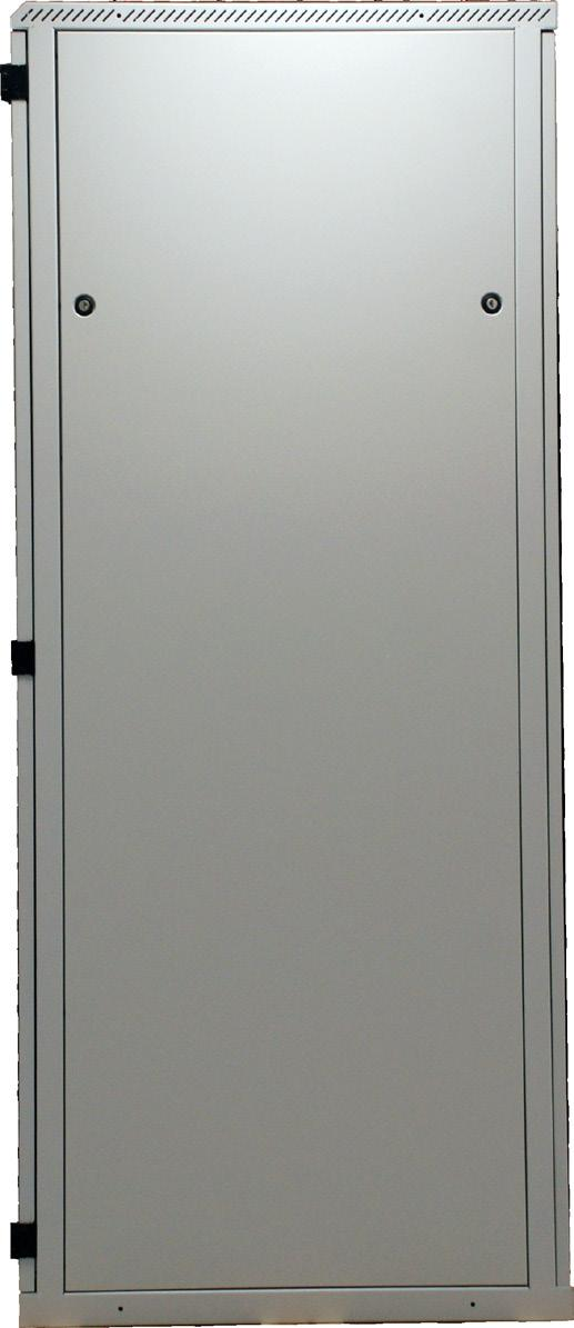 19 profiles Front door 1-part, with window of certified safety glass (thickness of glass 5 mm) Front door with 1-point mit turning handle, lockable, incl. profile half-cylinder acc.