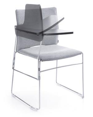 ARIZ 570V BLACK Joining for chairs without armrests.