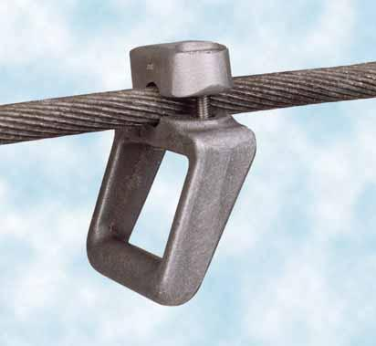 ing Sticks EaS Fixed Points Coupling aid (clamp) for phase screw clamps For high-voltage installations up to 220 kv Other types of clamps, e.g. for twin conductors or greater clamp widths available