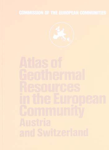 Kenntnisstand Nordwestdeutschland Atlanten Berichte HÄNEL, R. & STAROSTE, E. (Eds.) (1988): Atlas of Geothermal Resources in the European Community, Austria and Switzerland. - pp.