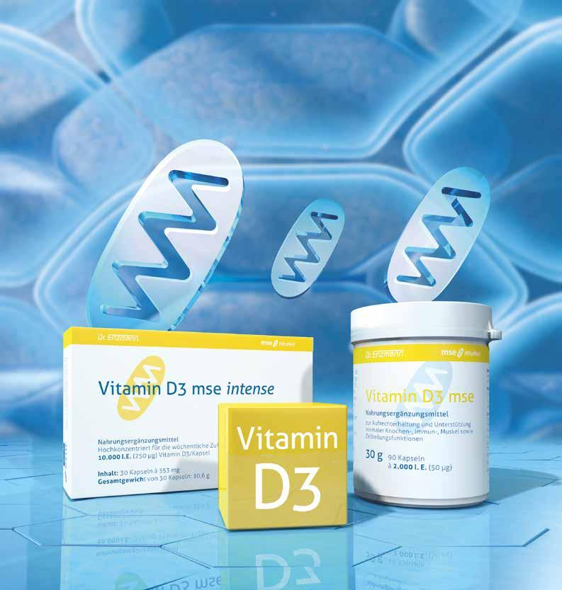 Vitamin D3 mse Vitamin D3 mse intense