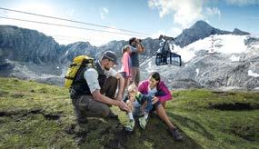 .. 18 z Nationalpark Ranger Touren Bergrestaurants & ütten Restaurants & huts... 20 Familienberg Maiskogel... 22 Tickets & Preise Tickets & prices.