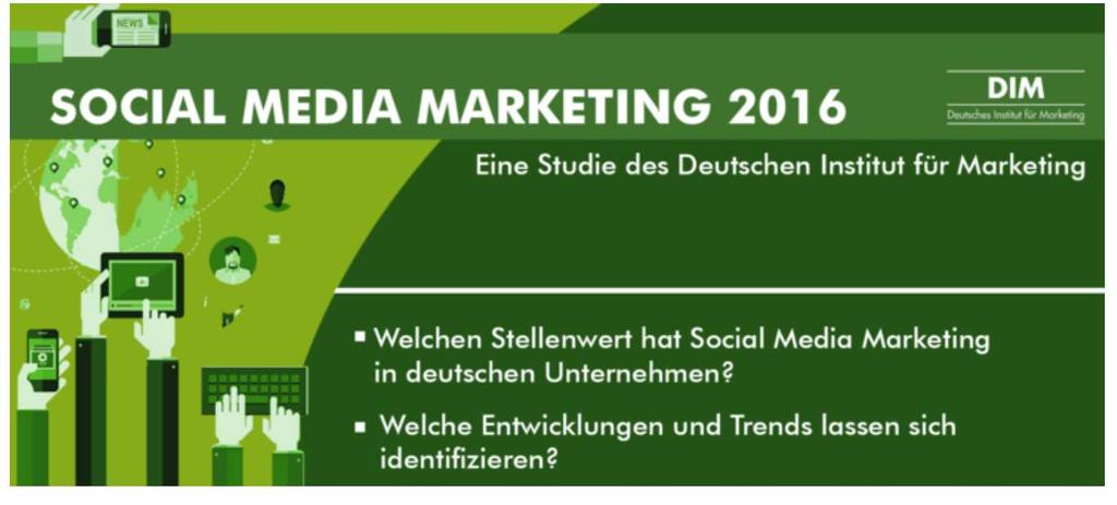 Social Media Marketing 2016 https://www.marketinginstitut.