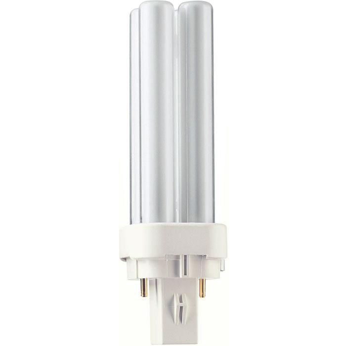 2 pin ENErGiESparlampE d Philips PL-C / extra warmweiss Artikel-Nr.