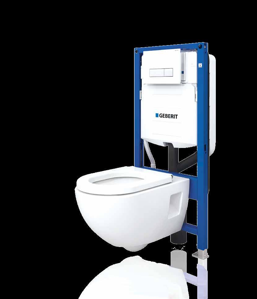 wand wc extra hoch