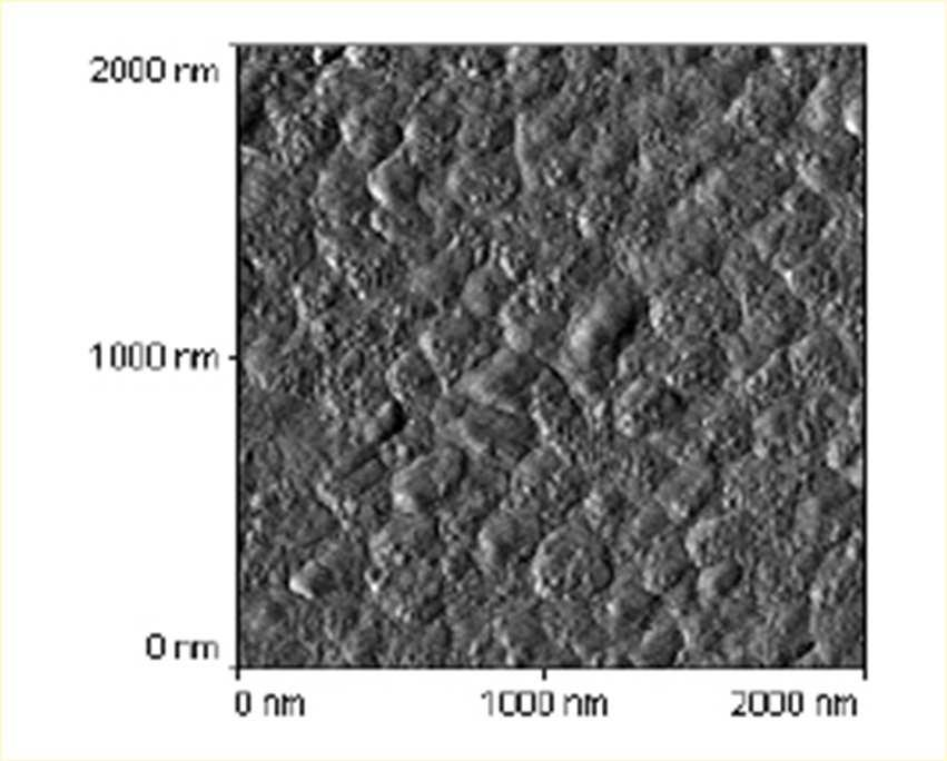 Surface roughness of laser ablated thin films YBCO - thin