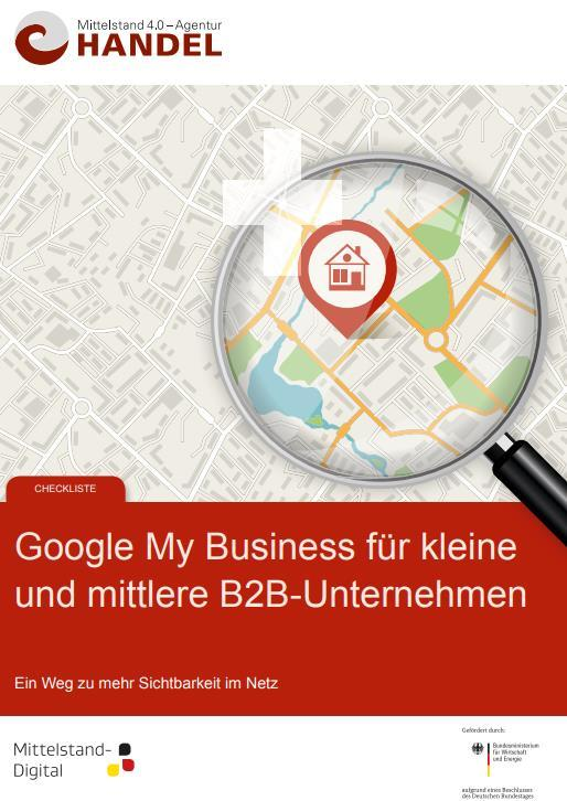 PUBLIKATION: Checkliste GoogleMyBusiness Mittelstand 4.