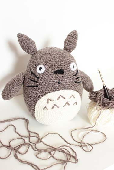 Free Totoro Crochet Patterns: All 3 Spirits from My Neighbor Totoro! | | 562x377