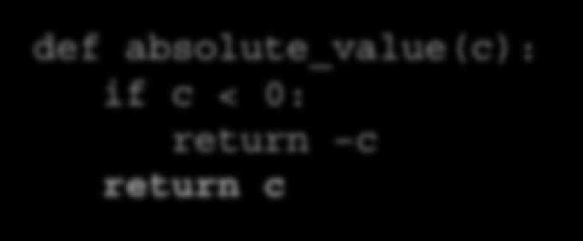 function must have a return statement.