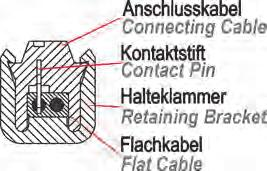 KABELSÄTZE, LEITUNGEN und STECKVERBINDUNGEN * CONNECTING CABLES, PLUGS and SOCKETS 106 SNAP-IN-SYSTEM H2.2001.050 H2.2001.100 kabel kabel 500 mm 0,03 kg 1000 mm 0,06 kg H2.2001.150 H2.2001.200 kabel kabel 1500 mm 0,07 kg 2000 mm 0,09 kg H2.