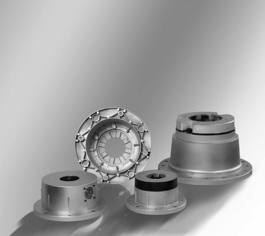 HYDRAUIC COMPONENTS. POWER TRANSMISSION. OI COOERS Pumpenträger nach VDMA 24 561 Bellhousings acc.