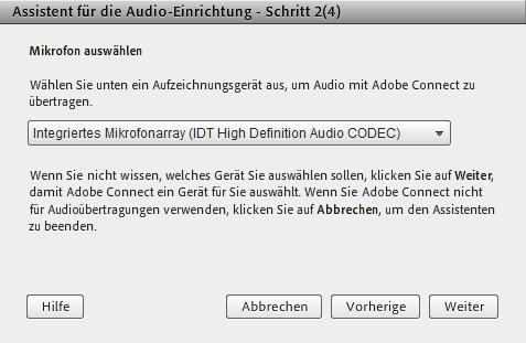Audio- Assistenten