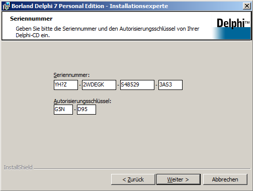 Delphi 7 Personal (keys only) http://cc.embarcadero.com/item/24962 Delphi 7 Personal is not available for download.