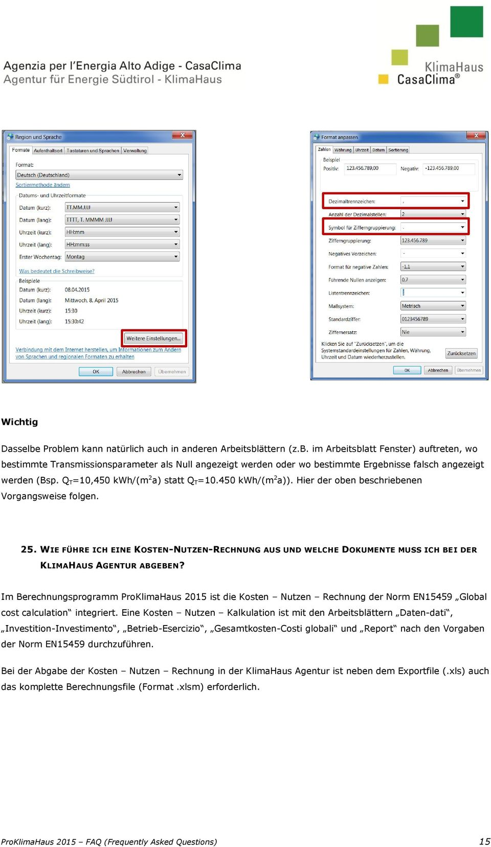 PROKLIMAHAUS 2015 FAQ (Frequently Asked Questions) - PDF