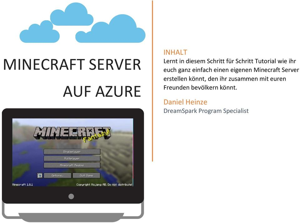 MINECRAFT SERVER AUF AZURE PDF - Minecraft server erstellen windows 7