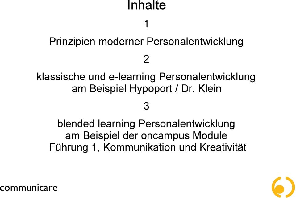 klein 3 blended learning personalentwicklung am beispiel der - Personalentwicklungskonzept Beispiel