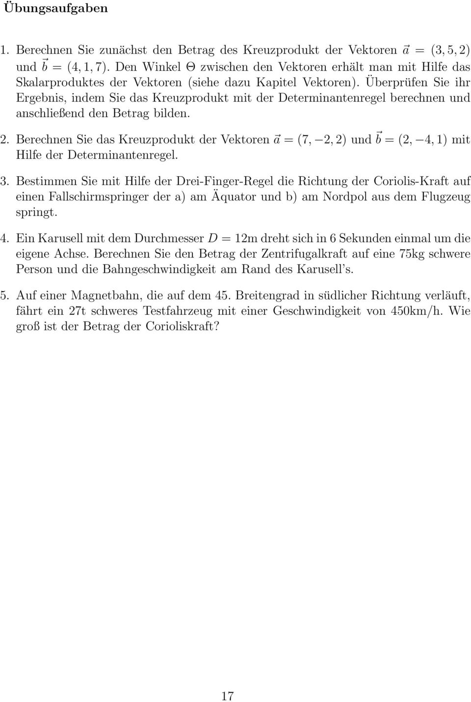 Repetitorium Physik 1 - PDF