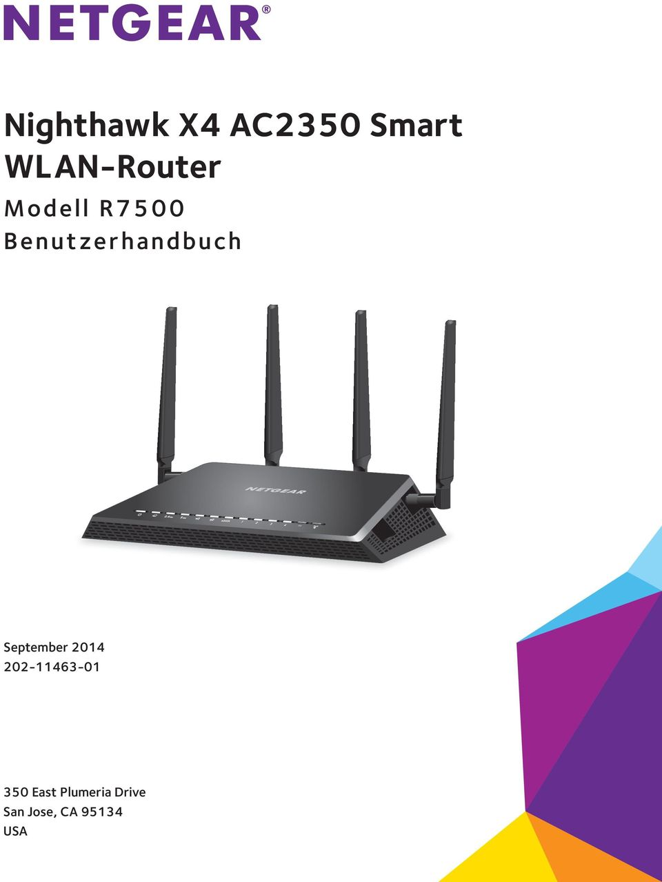 Nighthawk X4 AC2350 Smart WLAN-Router - PDF