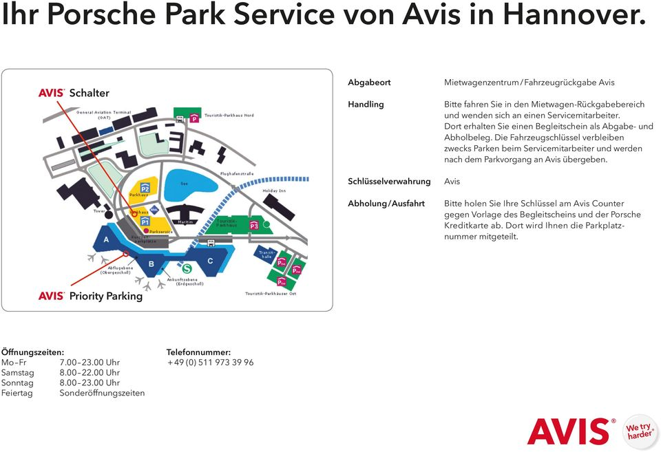 ihr porsche park service von avis in berlin tegel pdf. Black Bedroom Furniture Sets. Home Design Ideas