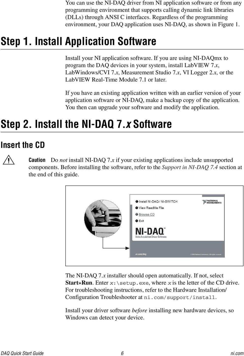 DAQ Quick Start Guide - PDF Free Download