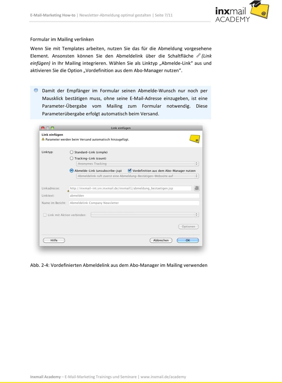How- to. E- Mail- Marketing How- to. Newsletter- Abmeldung optimal ...