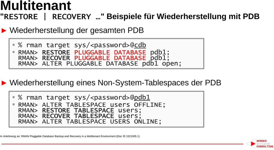 RMAN Reloaded  Recovery Manager News & Features - PDF