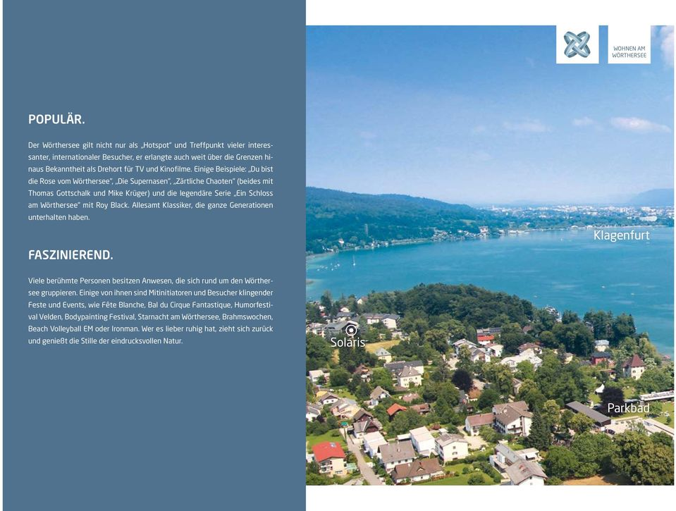 Exklusives Penthouse direkt am Wrthersee - Apartments for