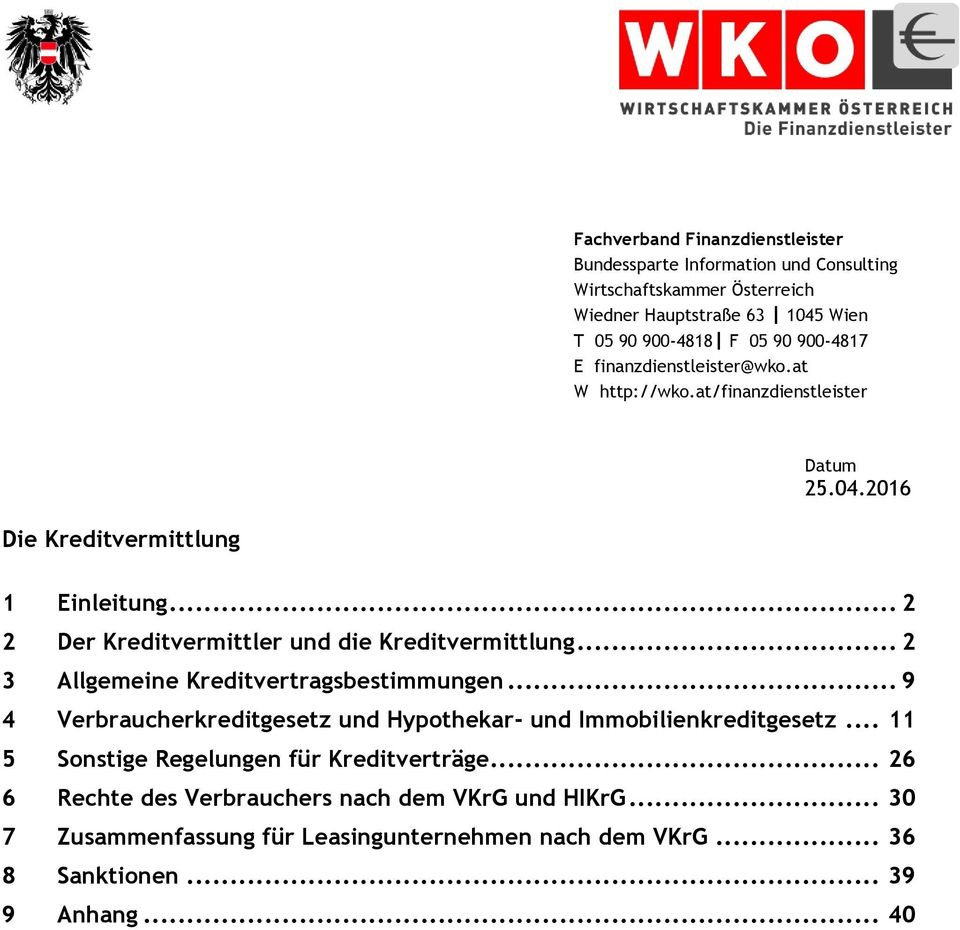 Die Kreditvermittlung Pdf Free Download