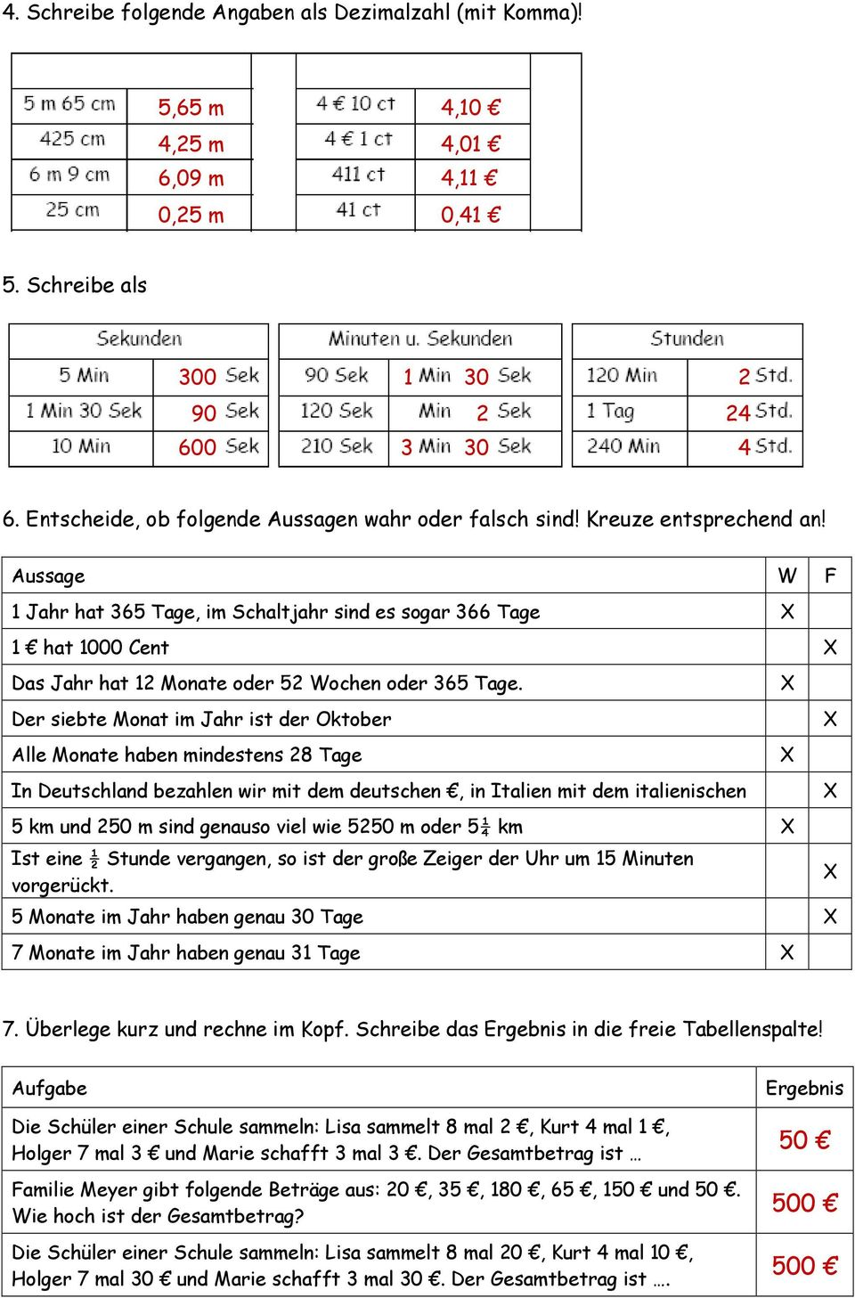 Eignungstest Mathematik - PDF
