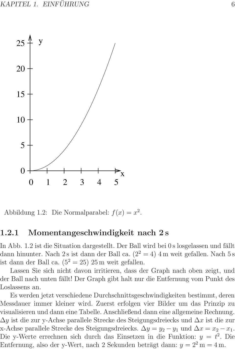 Skript Mathematik. Analysis I: Ganzrationale Funktionen. Version: 27 ...