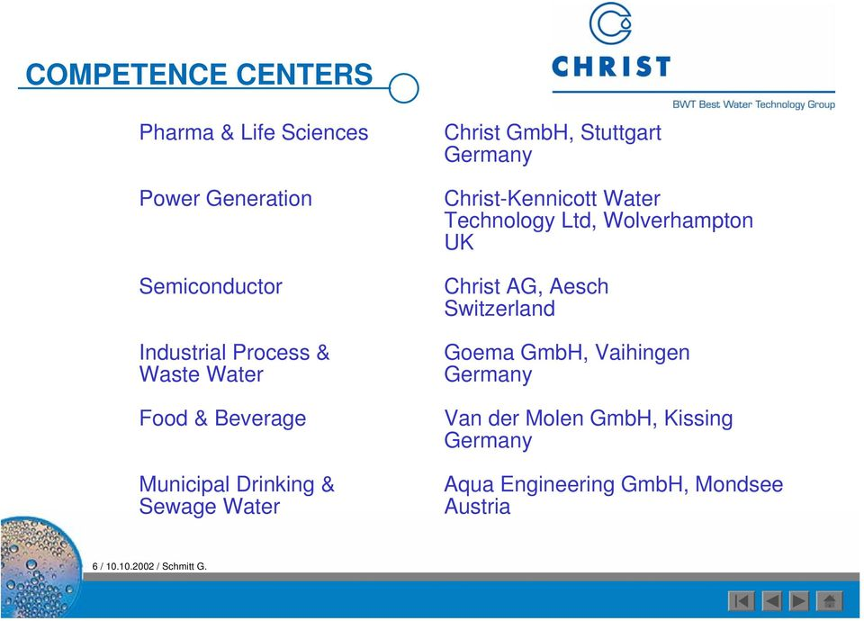 Christ Water Technology Group - PDF