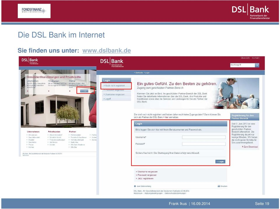uns unter: www.dslbank.