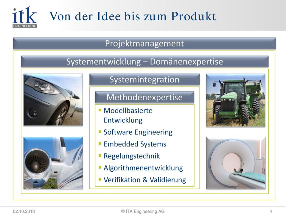 Entwicklung Software Engineering Embedded Systems Regelungstechnik