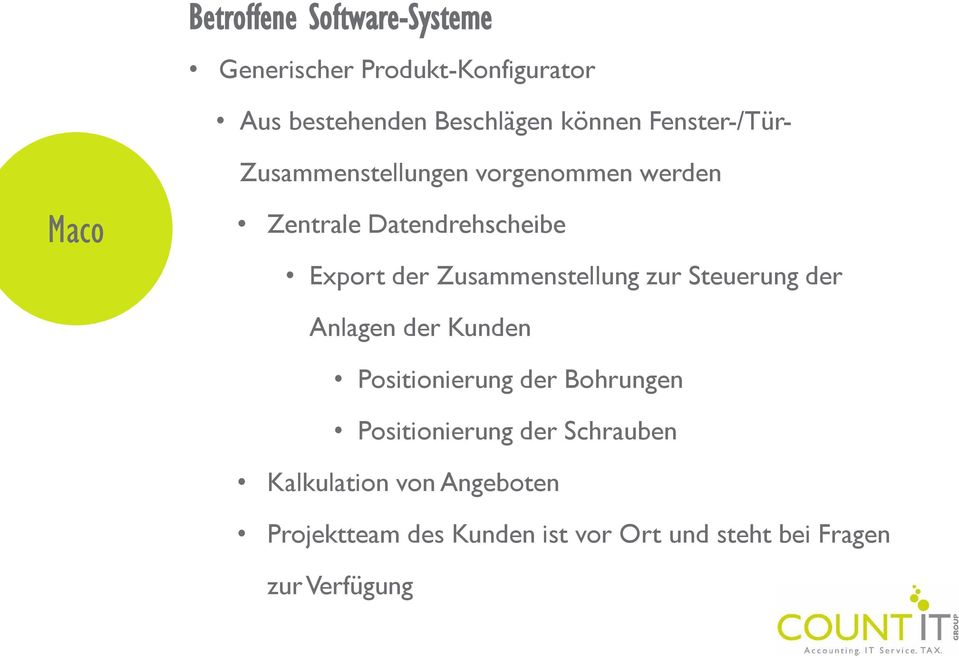 AGILES Software Engineering in der COUNT IT. Testautomatisierung in ...