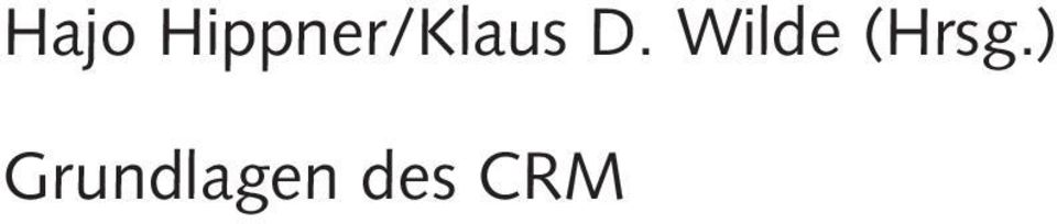 GRUNDLAGEN DES CRM HIPPNER PDF DOWNLOAD