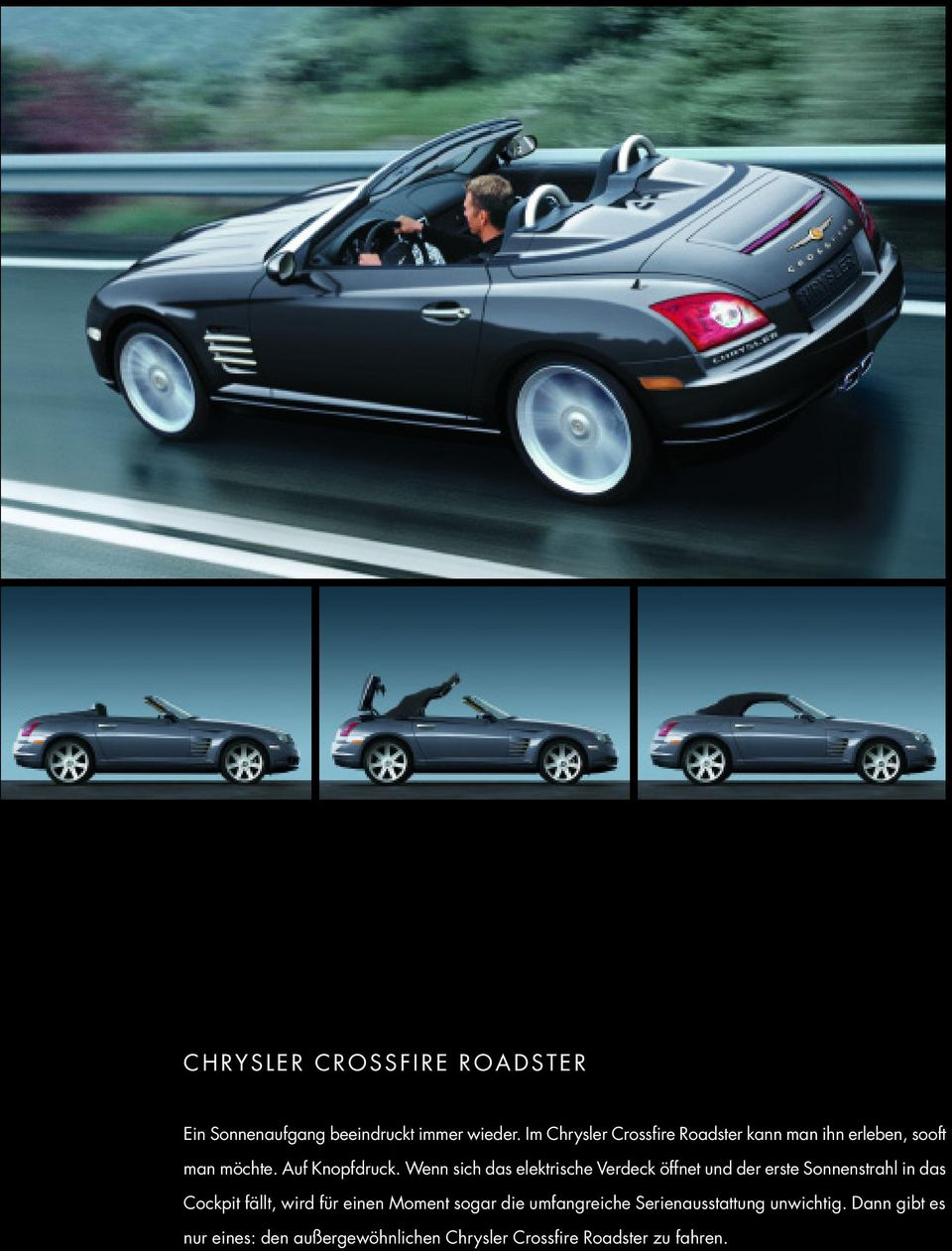 Kofferraummatte Chrysler Crossfire Roadster+Coupe Nr.24