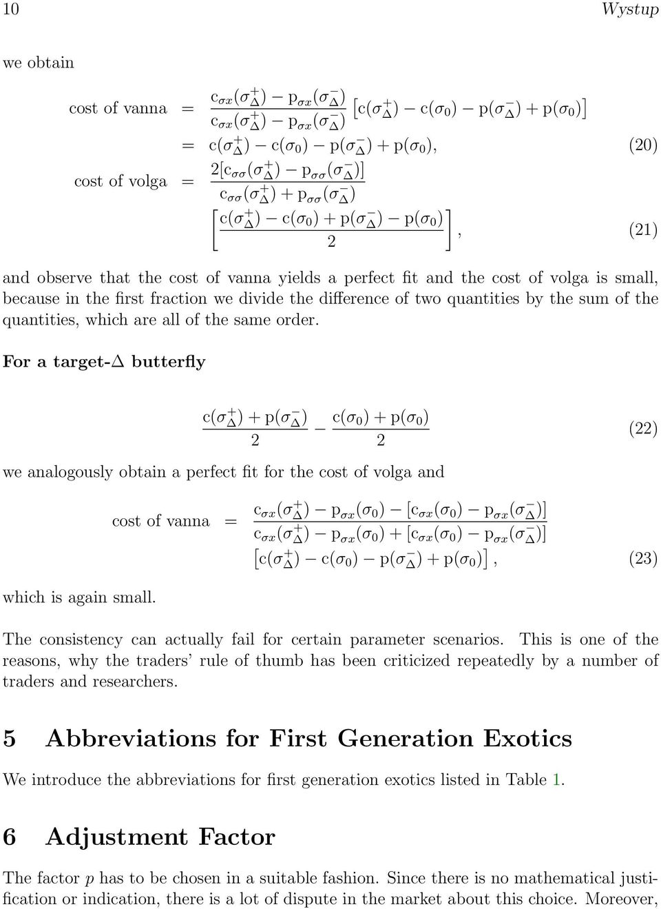 No 11 Vanna Volga Pricing Uwe Wystup July Frankfurt Main Pdf Brief Introduction To Circuits Electricaleasycom Two Quantities By The Sum Of Which Are All Same Order