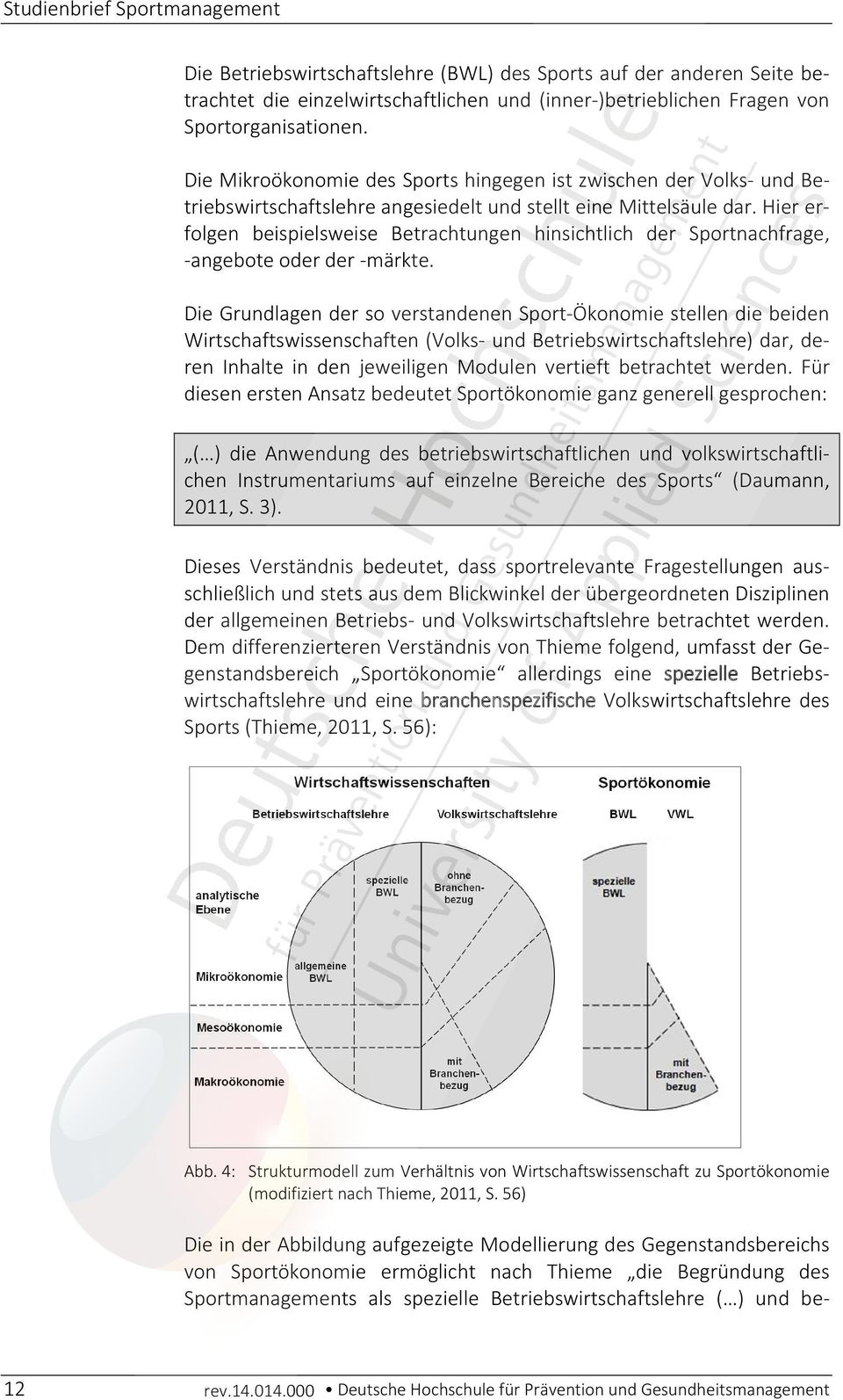 Studienbrief Sportmanagement Pdf